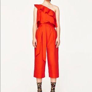 Zara asymmetrical jumpsuit